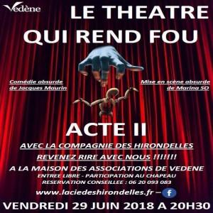 Affiche atelier theatre